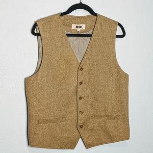 Joseph Abboud Tan/Light Brown Suit Vest